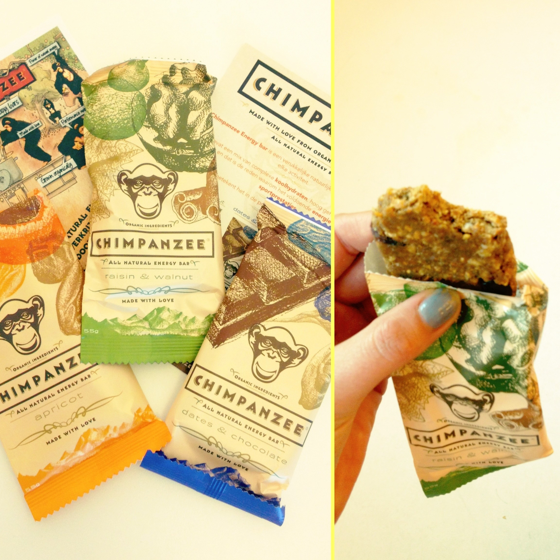 Chimpanzee // Organic & Raw Energy Bars